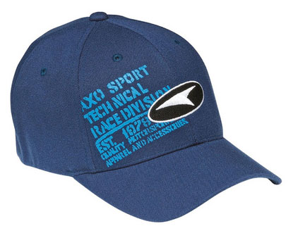 AXO Race Tech Flexfit Cap Blue