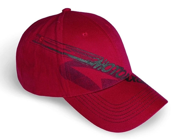Axo AXO Motorcycle Cap Hat Red