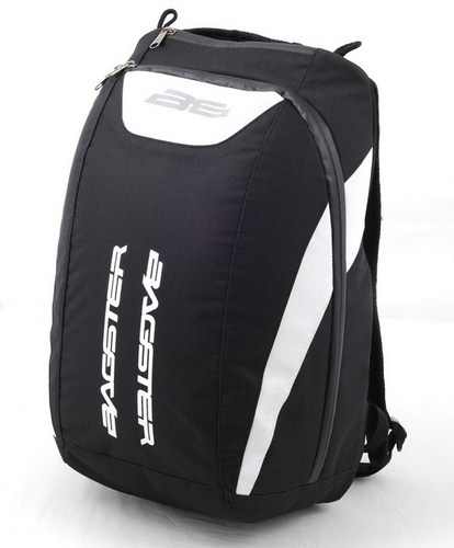 Bagster Funky Backpack black-white