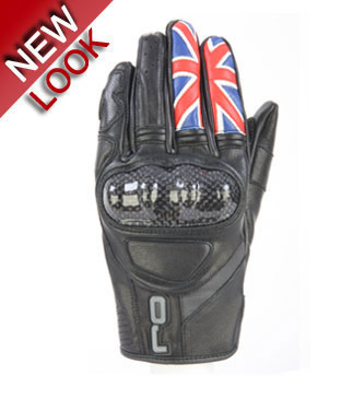 OJ FIGHTER ENGLAND leather gloves
