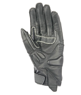 OJ FIGHTER ITALIA leather gloves with covered knuckles