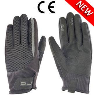 OJ Rush summer gloves black