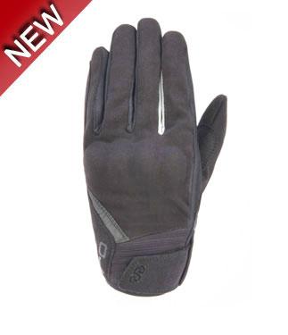 OJ Strike summer gloves black white