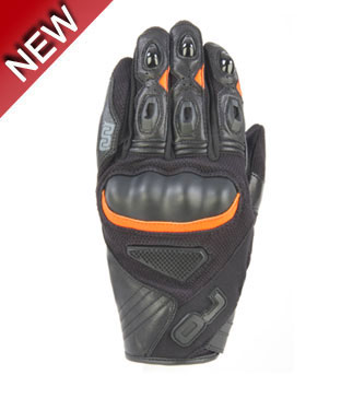 OJ Tape summer gloves black orange