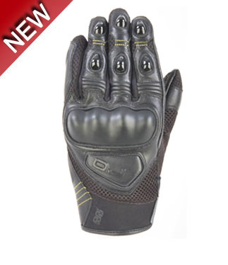 OJ Blink summer leather gloves black