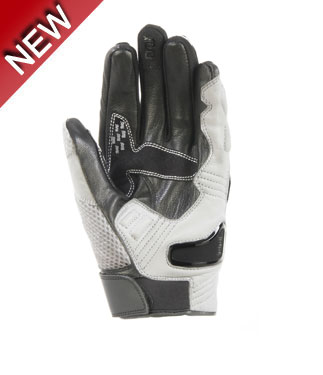 Oj Blink summer leather gloves white