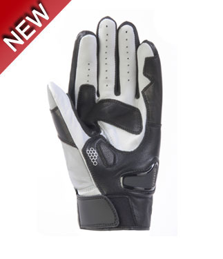 OJ Riad summer gloves grey black white