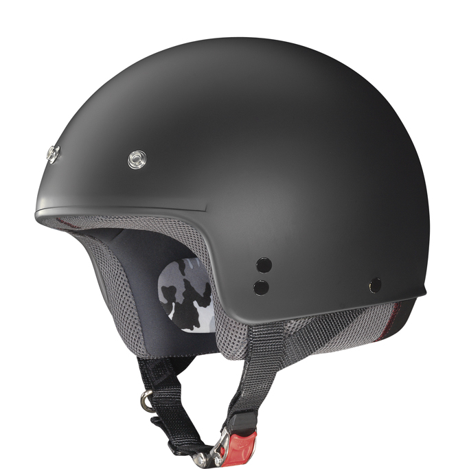 Casco demi jet Grex G2.1 Club nero opaco