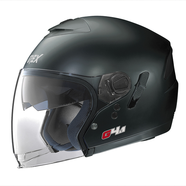 Grex G4.1 Kinetic jet helmet Matte Black