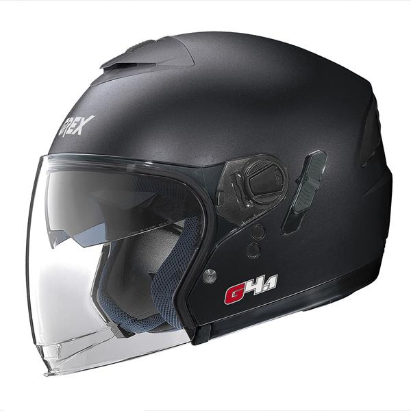 Grex G4.1 Kinetic jet helmet Graphite Black