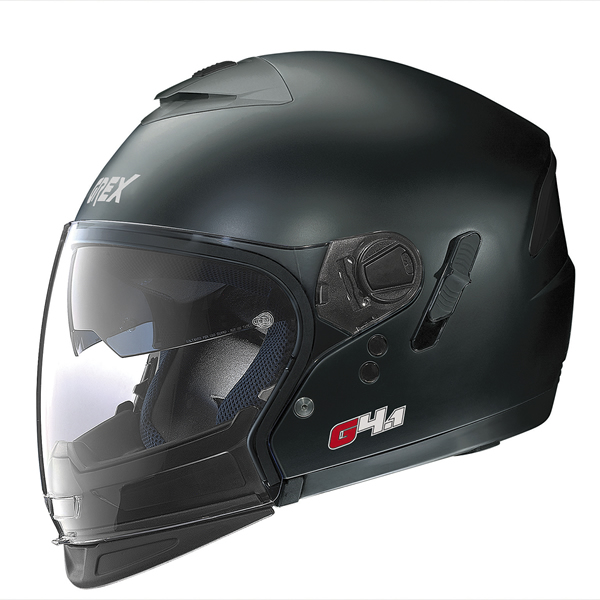 Grex G4.1 Pro Kinetic flip off helmet matte Black
