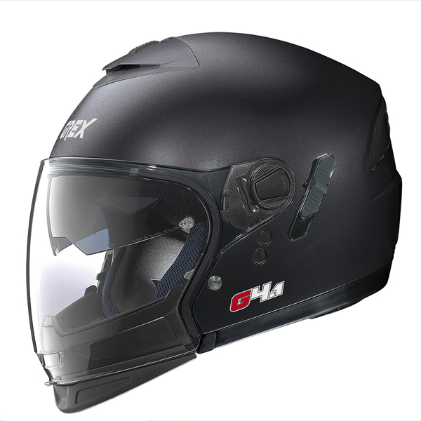 Grex G4.1 Pro Kinetic flip off helmet Graphite Black