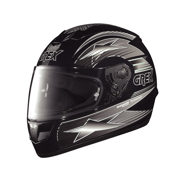 Grex G6.1 Decor full-face helmet black-grey