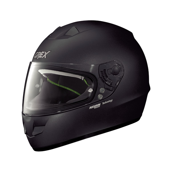 Grex G6.1 Kinetic full-face helmet black graphite