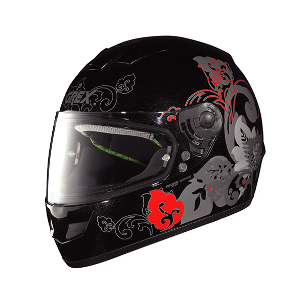 Casco moto Grex G6.1 Mild metal black