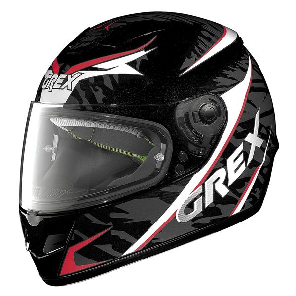 Grex G6.1 Mimesis full face helmet Black Red White