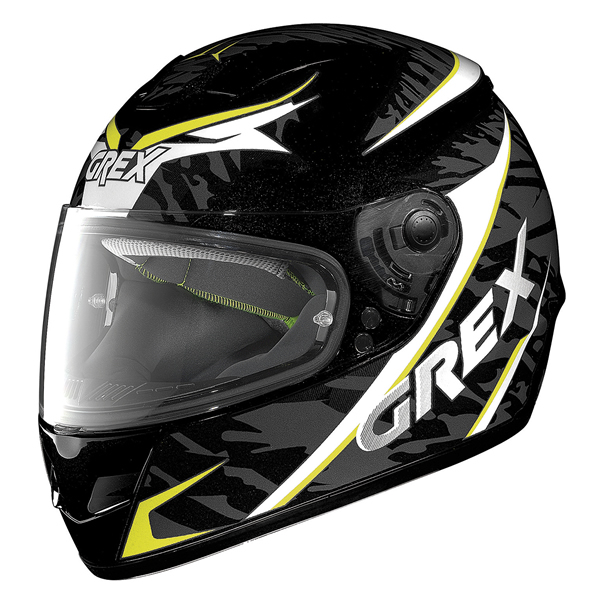 Grex G6.1 Mimesis full face helmet Black Yellow White