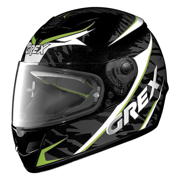 Grex G6.1 Mimesis full face helmet Black Green White