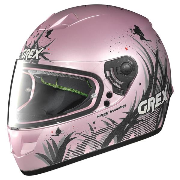 Casco integrale Grex G6.1 Missy rosa opaco