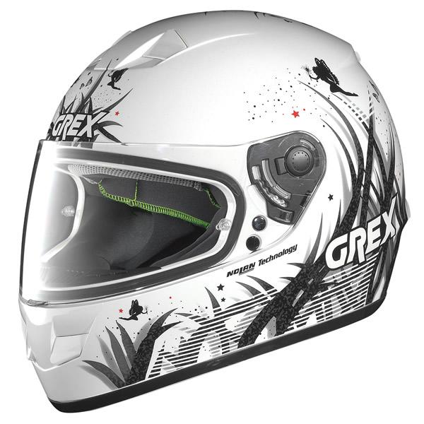Helmet full-face Grex G6.1 Missy metal white