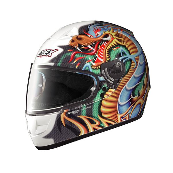 Casco moto Grex G6.1 Myth glossy white13