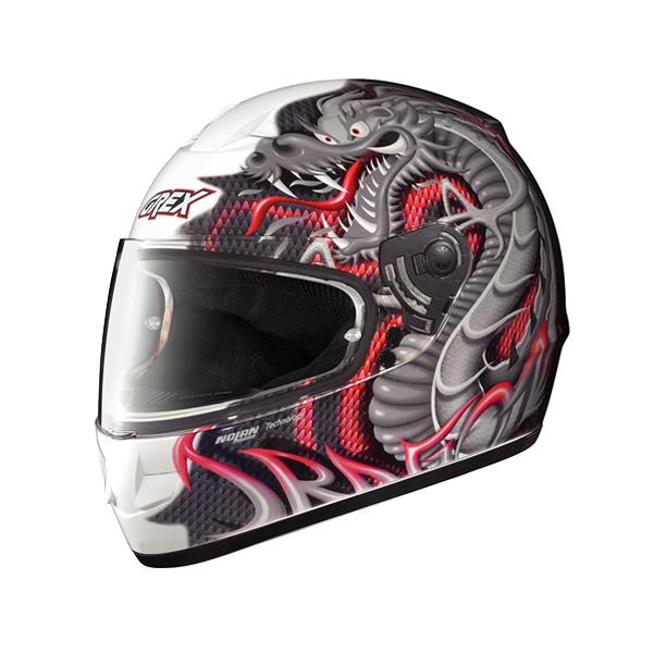 Grex G6.1 Myth full-face helmet glossy white18