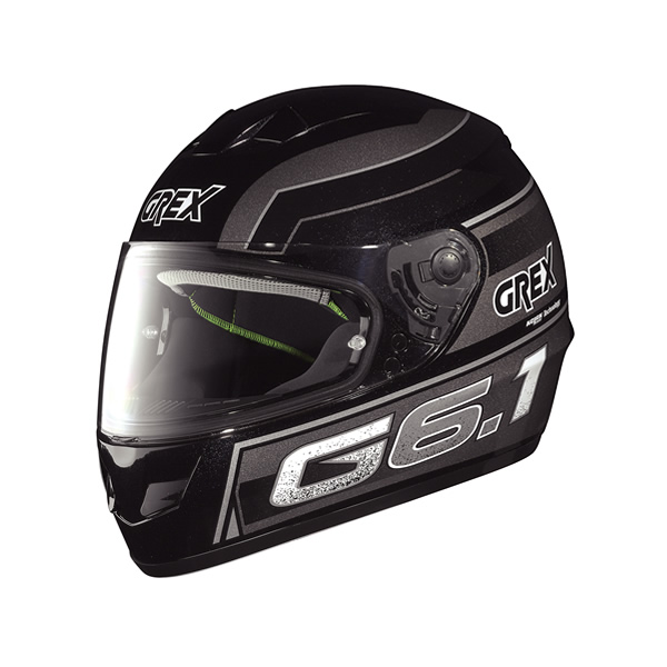 Casco moto Grex G6.1 Podium metal black