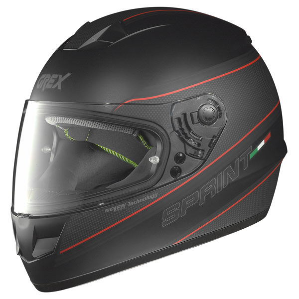 Casco integrale Grex G6.1 Sprint nero opaco