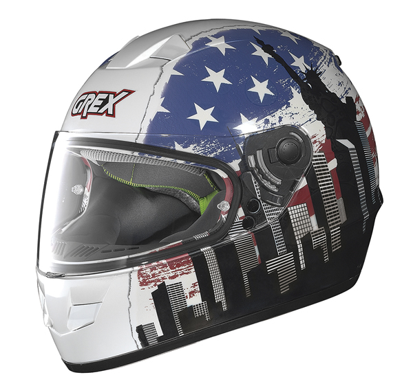 Grex G6.1 Urbex full face helmet White USA