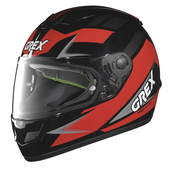 Grex G6.1 Wry full face helmet Black Red