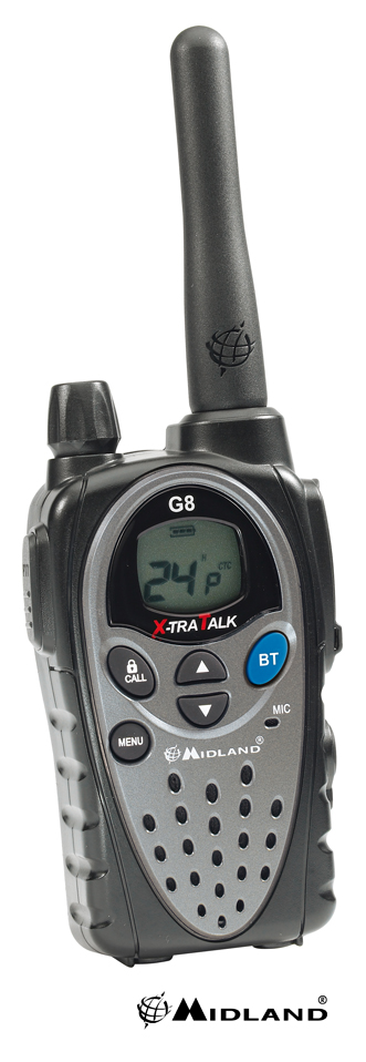 Midland G8E-BT radio communication PMR 446