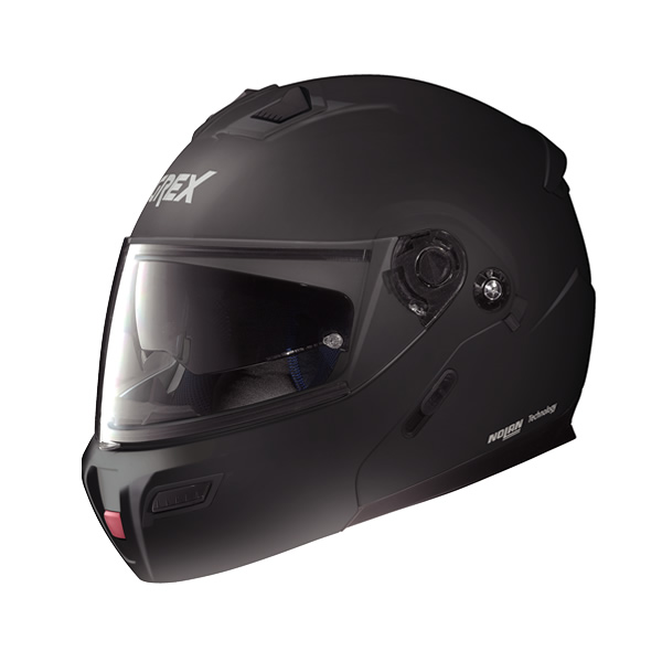 Grex G9.1 Kinetic full-face flip-up helmet flat black