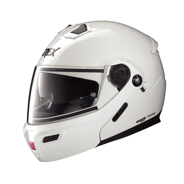 Grex G9.1 Kinetic full-face flip-up helmet metal white