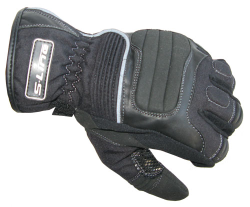 S-LINE Gan 900 Leather & Textile Winter Gloves