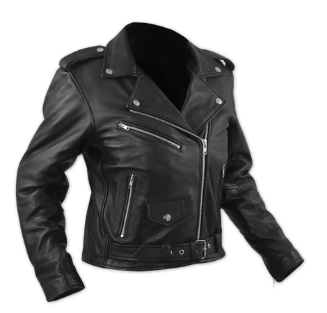 A-PRO Queen Lady Custom Leather Jacket