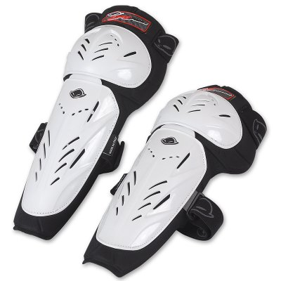 Pair knee UFO White Limited