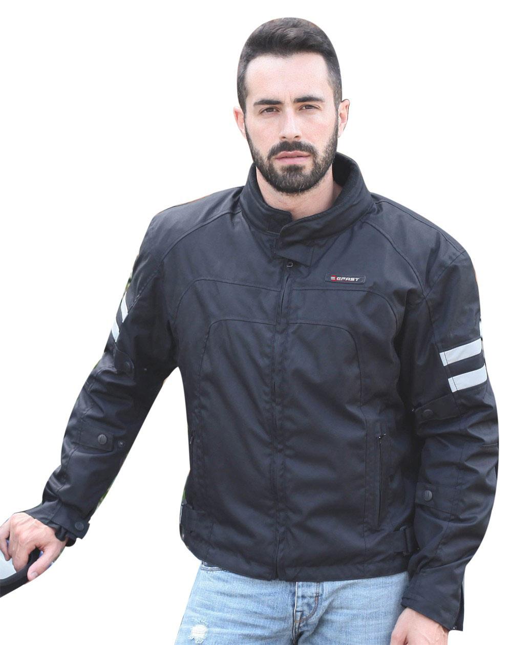 Giacca moto Befast Road Nero