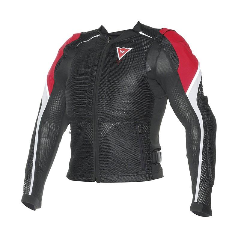 Giacca moto estiva Dainese Sporta Guard Nero Rosso