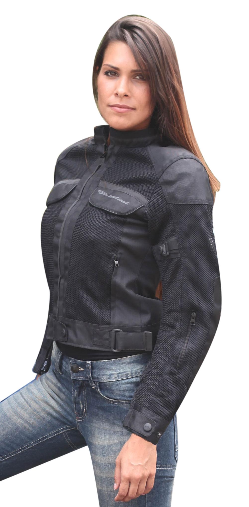 Giubbotto moto donna estivo Befast Target Lady