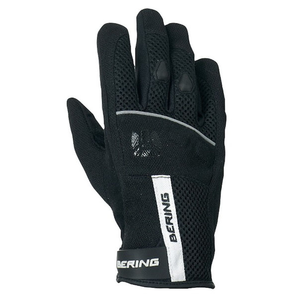 Baby summer motorcycle gloves Bering Mako Black White