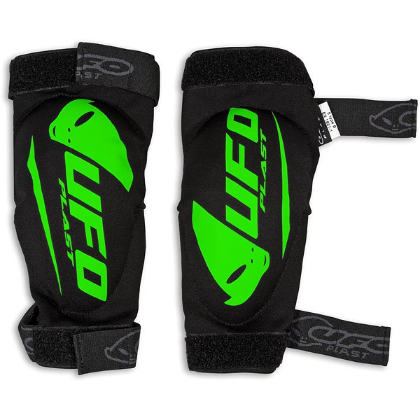 Ufo Plast Spartan elbow guards Black Green