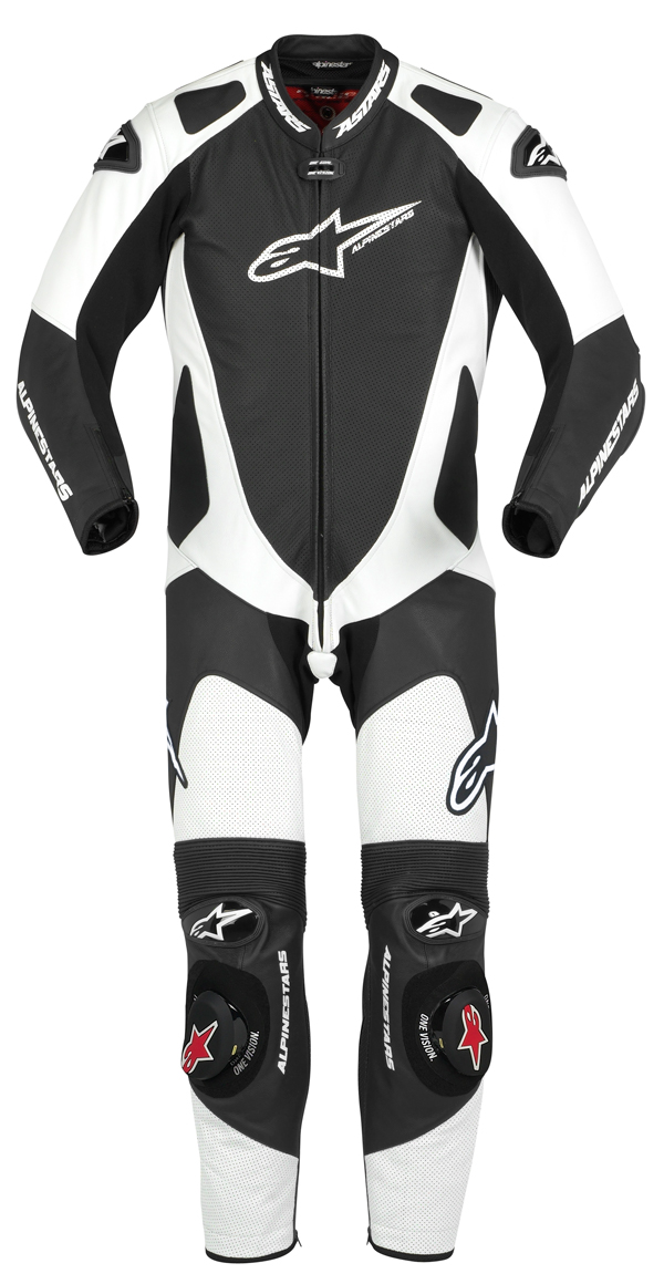 Alpinestars GP Pro leather suit black-white