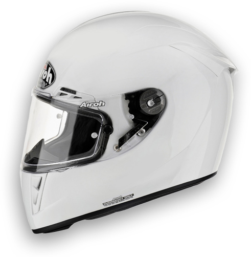 Motorcycle Helmet Airoh GP 400 Color glossy white
