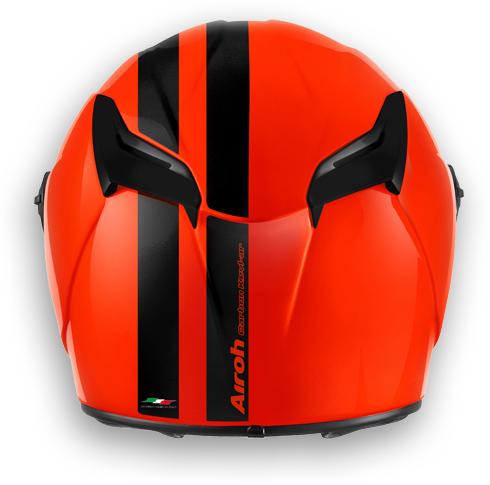 Motorcycle Helmet Airoh GP 400 Circuit glossy orange