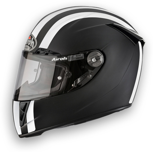 Airoh GP 400 Motorcycle Helmet Matte Black Circuit