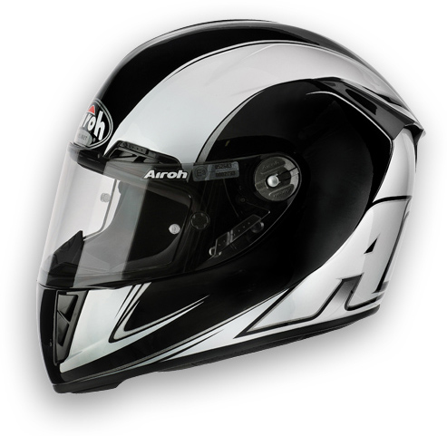 Airoh GP 400 Motorcycle Helmet Furious