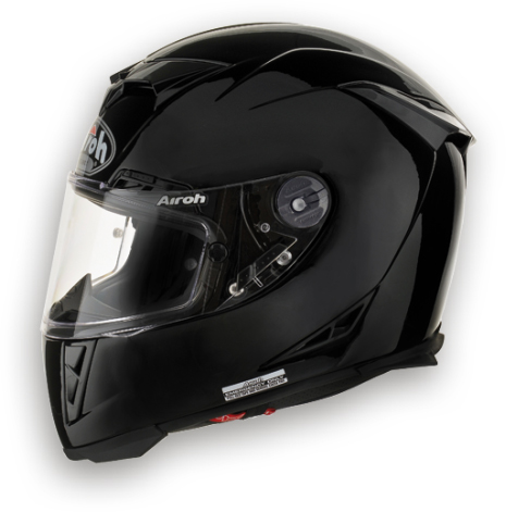 Casco moto Airoh GP 500 Color nero lucido