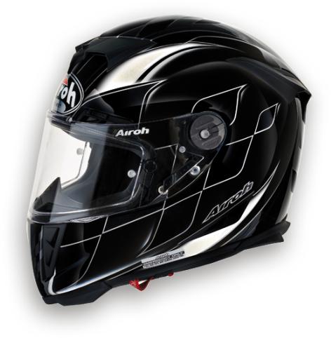 Casco moto integrale Airoh GP 500 Drive nero lucido