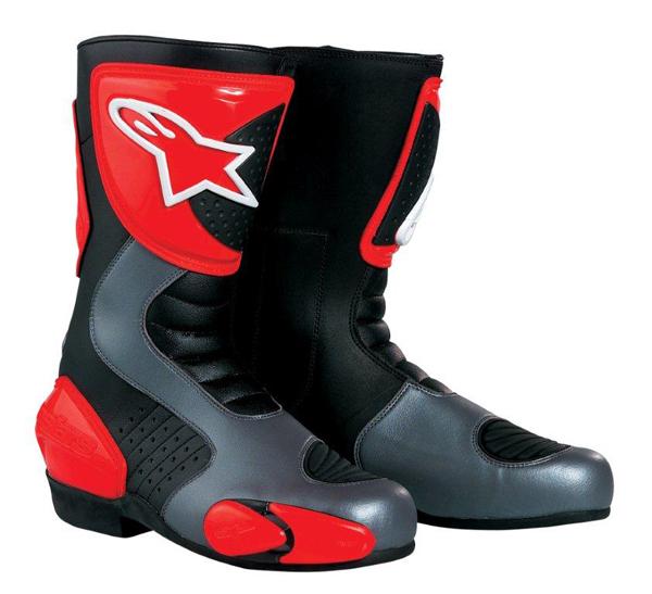 Stivali moto racing Alpinestars GPS 3 nero-rossi