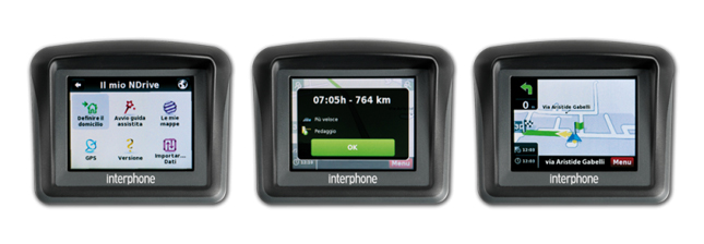 Cellular Line Interphone satnav for motorcycles Italy